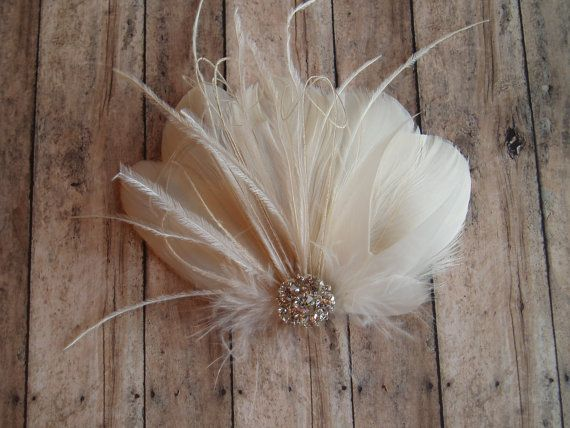 Hey, I found this really awesome Etsy listing at http://www.etsy.com/listing/163643845/wedding-hair-accessory-ivory-hair-clip