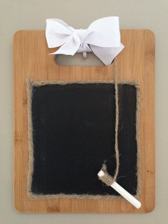 VIsit my website to purchase a cutting board chalk board! Makes a great gift or decoration for your home!
