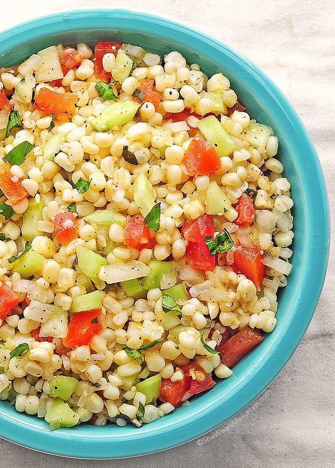 Fresh Corn Salad Recipe