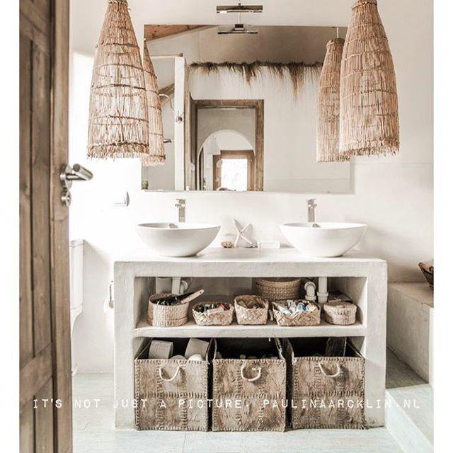Inspi décoration salle de bain  je passe mon temps sur Pinterest  a ne plus en dormir  jeudi construction de mon banc tissage  Pinterest: Rachelstyliste