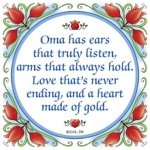 For our Oma!!
