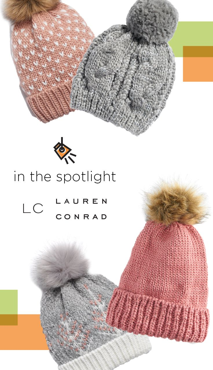 33e553fb2a9e6a IN THE SPOTLIGHT Find LC Lauren Conrad hats at Kohl's. You'll stay cozy