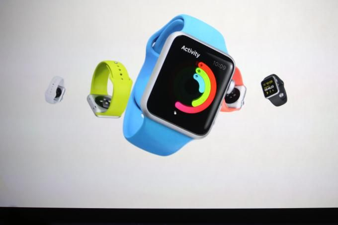 The many colors of the new #AppleWatch range