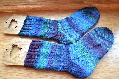 Susan B. Anderson: How I Make My Socks