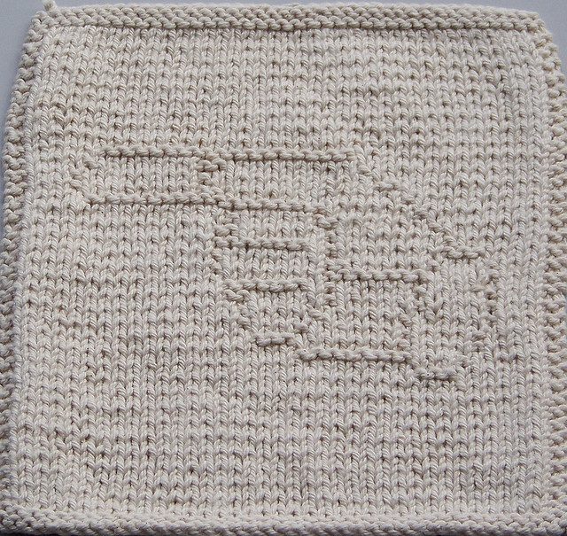 Knitted Dishcloth Pattern With Letters : 27 best images about Sign Language alphabet knit dishcloth ...