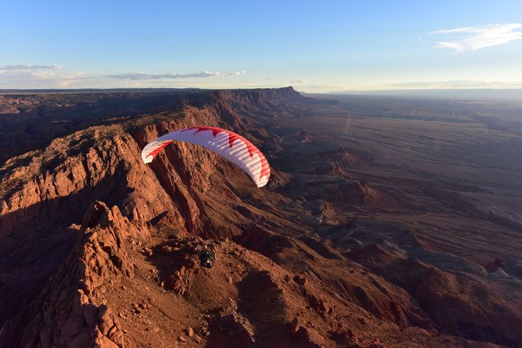 Paramotor Extreme Canyon Run Powered Paragliding!! Grand Adventure SUPER...