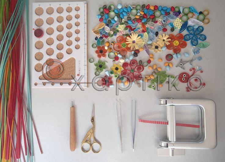 Όλα τα βασικά εργαλεία Χαρτοπλεκτικής σε μια εικόνα!