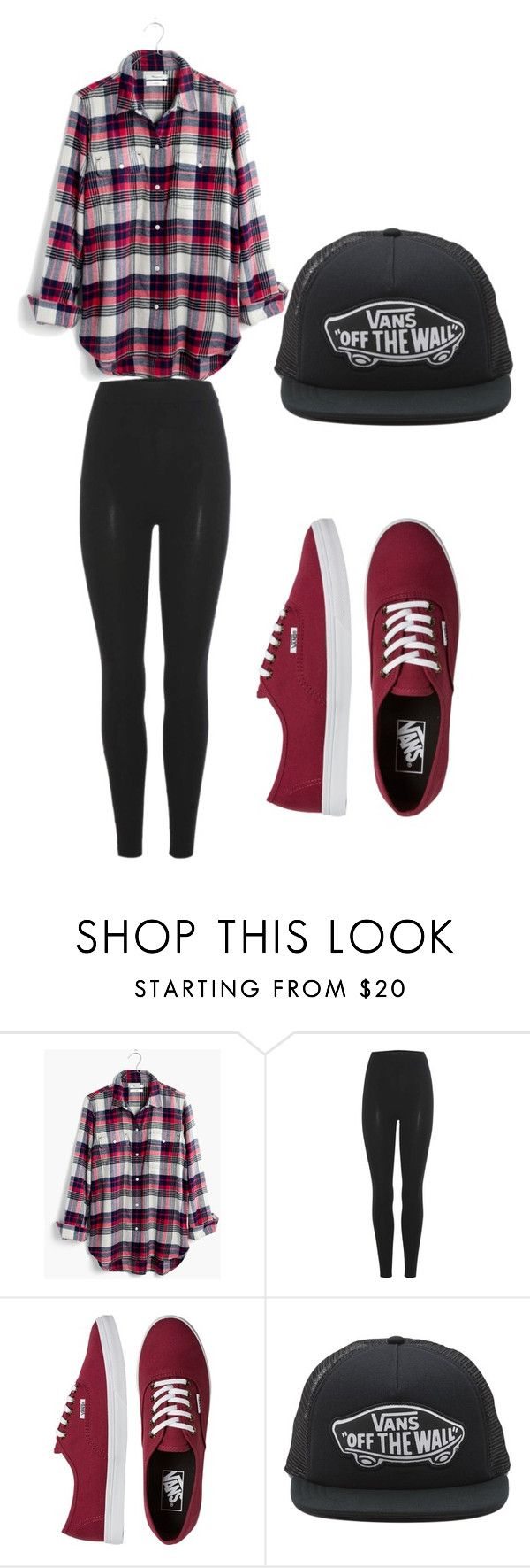 """""""pizza night with friend"""" by rdaniellebosher on Polyvore featuring Madewell, adidas Originals and Vans"""