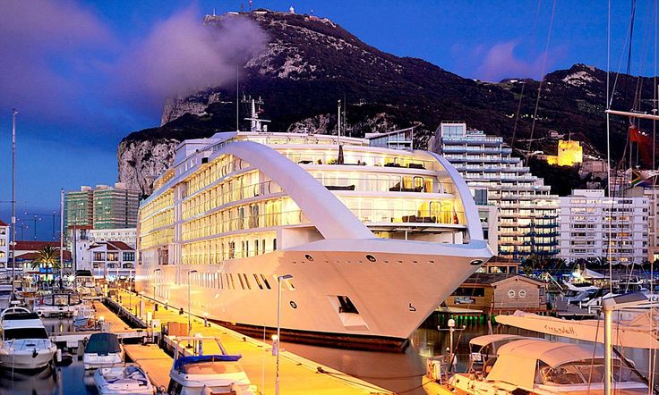 See Gibraltar in style from your five-star 'yotel' room