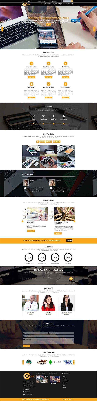 Corporal Premium WordPress Theme