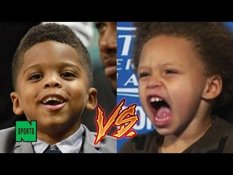 Chris Paul's Son Does the Whip and the Nae Nae, Comes for Riley Curry's Cutest NBA Kid Crown | jovideo - видео портал