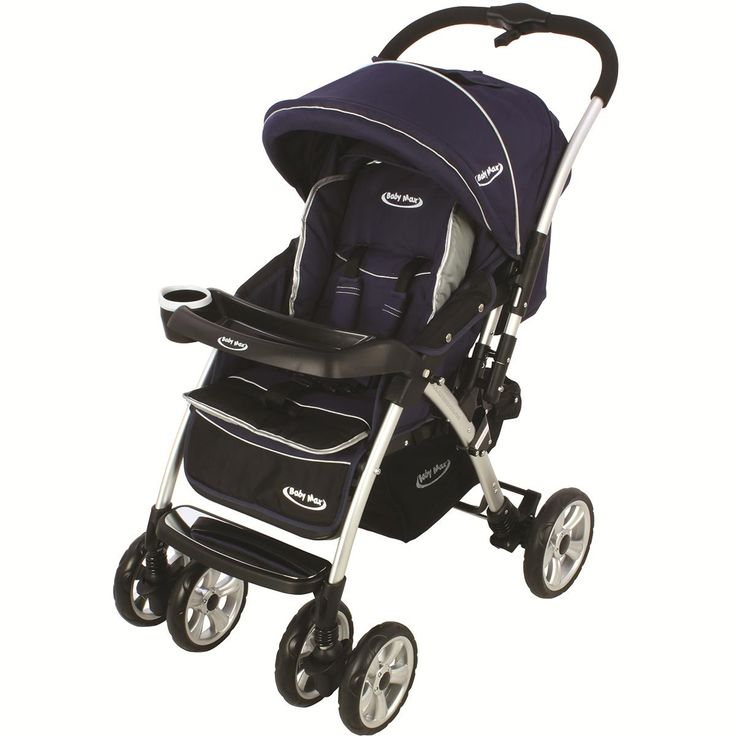 Baby Max SH289-LACI Baby Max Polo Çift Yönlü Bebek Arabası Lacivert
