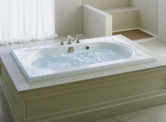 Bathroom Tub Deck Ideas : Best images about bathroom by installing jacuzzi tubs