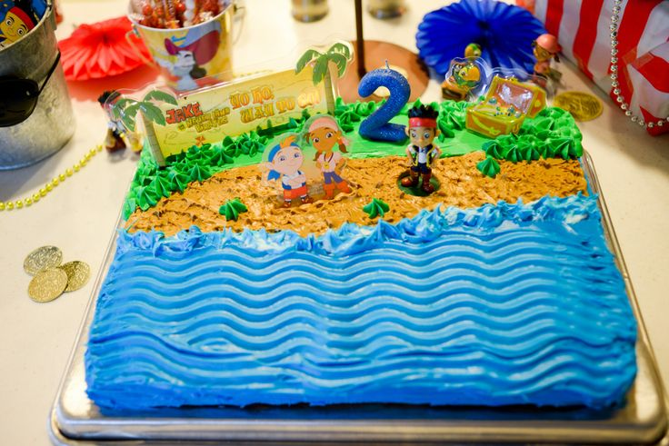 Jake And The Neverland Pirates Birthday Cake Publix