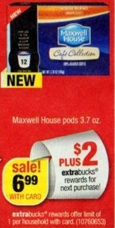 *HOT* CVS: Maxwell House K-Cups – $0.29 Each – Starting Sunday 2/10