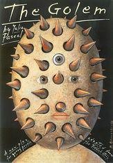 Mieczyslaw Gorowski – Affiche pour The Golem, pièce de théâtre de Julia Pascal (2003)