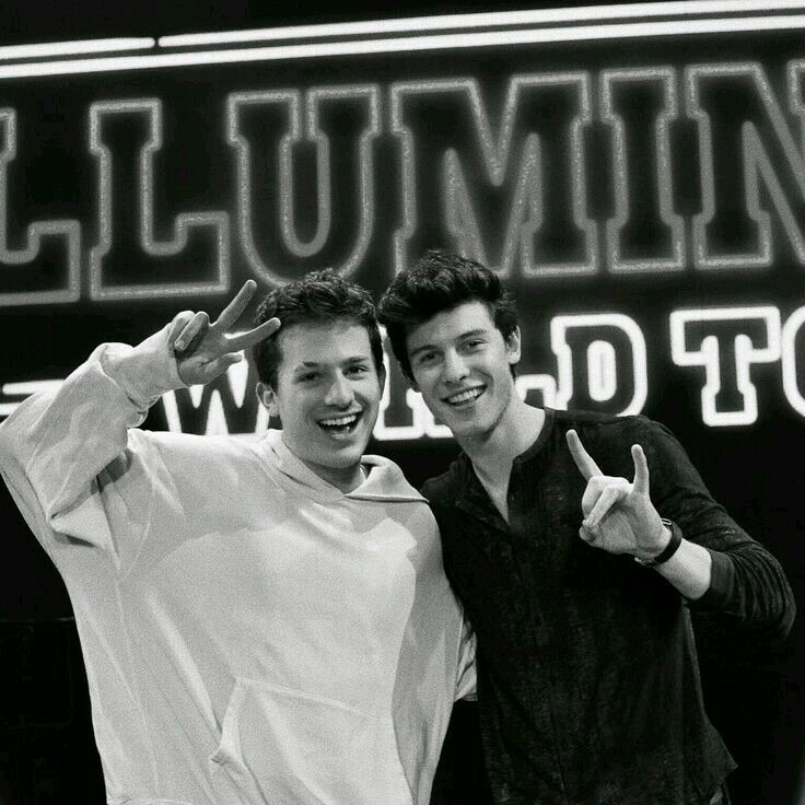 Shawn and Charlie. The two cutest guys ever!!
