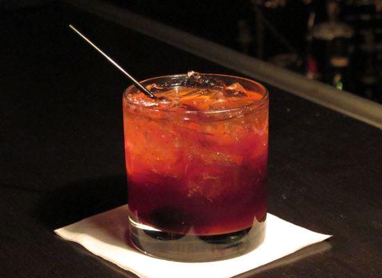 The George Washington (Angel's Envy Bourbon, sparkling wine, sugar ...