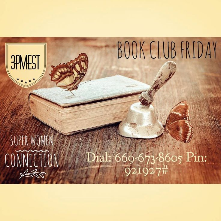 Do you know why I love Friday?  It's book club day on the Super Women Connection Daily Teleseminar! Tune in as we continue to read the amazing book, The Power Charm  I am excited for the call!!  Dial in at 3PM EST (that's NoW!)  661-673-8605 PIN: 921927#
