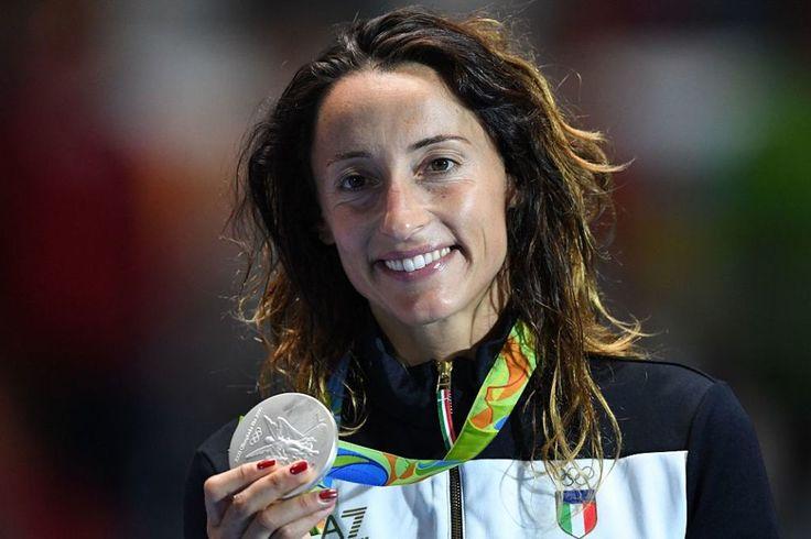 Elisa di Francisca - Medaglia d'argento per la campionessa olimpica di Londra 2012 nel fioretto individuale femminile (scherma).