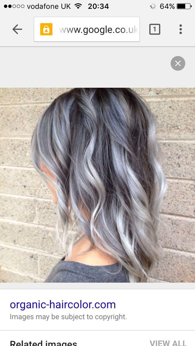 Grey purple hint