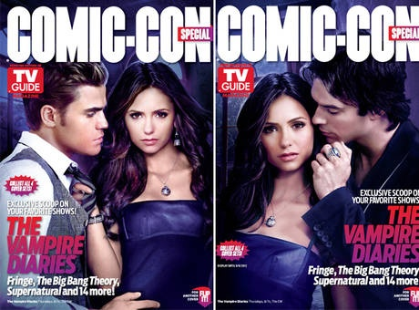 Vampire Diaries TV Guide Comic-Con 2012 Covers: Picture, Vampire Diaries 3, Vampire Diaries The, Diaries Tv, Diaries The Originals, Hot Tv, Diaries Stars, The Vampire Diaries, Grace Tv