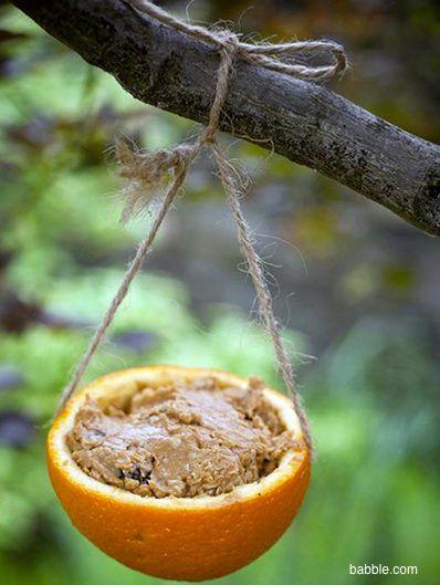 10 mangiatoie per uccelli con materiali riciclati