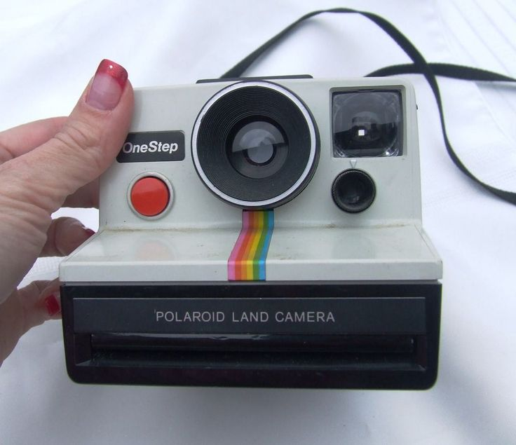 Vintage #Polaroid One Step Land Camera CHEAP NO RESERVE #Polaroid camera old  This is now for sale on ebay for 99 cents. search ebay for item number 371210863484