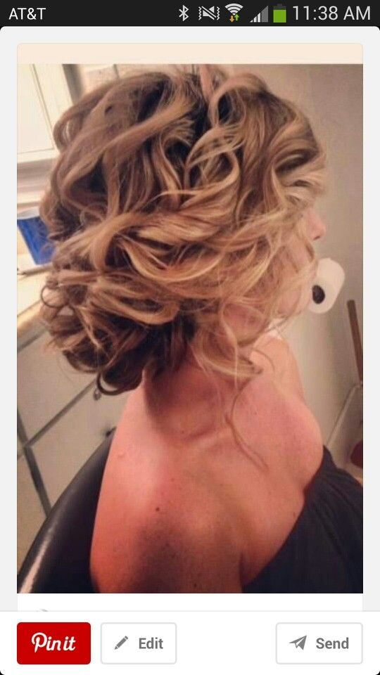 Low elegant up do