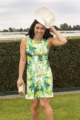 #MelanieVellejo attends the Caulfield Cup Carnival day at Caulfield Racecourse on October 18, 2014 in Melbourne, Australia.