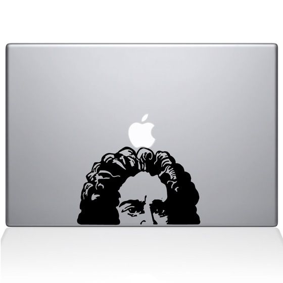 Find the Newtons Apple Macbook Decal at the Decal Guru online store.