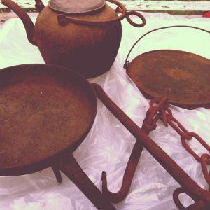 Restoring Cast Iron kitchen equipment