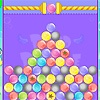 Drop bubbles down and try to match 3 or more of the same color. Remove as many bubbles per color as indicated on the right to advance to the next level. http://www.itsgamestime.com/puzzle/bird-bubble.html