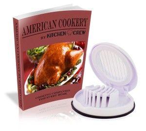 Must Have Kitchen Gadgets:Egg Slicer - Best Compact Kitchen Gadget - New Professional Chef Cook - White - Dishwasher Safe -