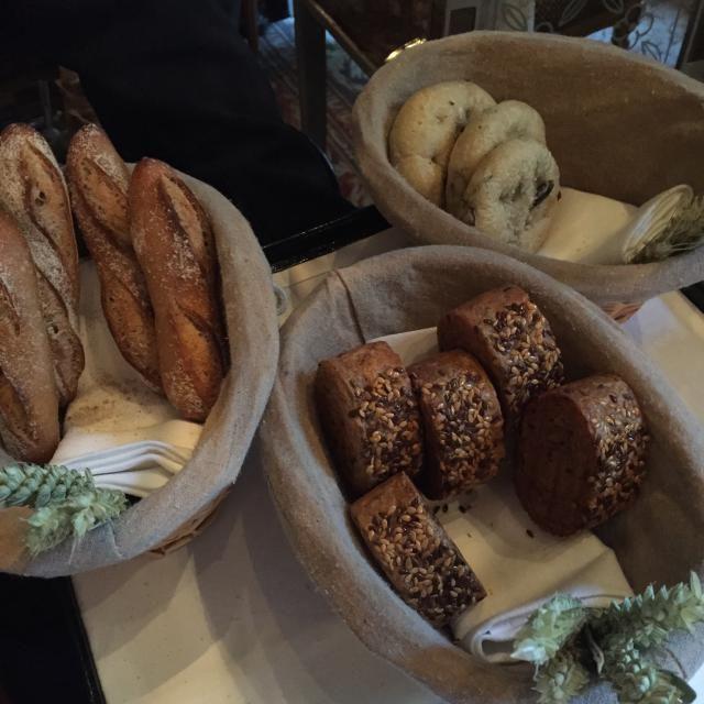 Michelin Star Dining Event: Le Cinq Paris: The Bread Basket