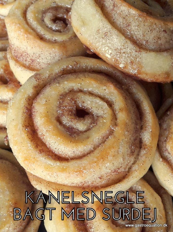 En lun kanelsnegl smager bare fantastisk. Prøv denne low fodmap venlige kanelsnegl bagt med surdej, med samme gode smag som den man kender.