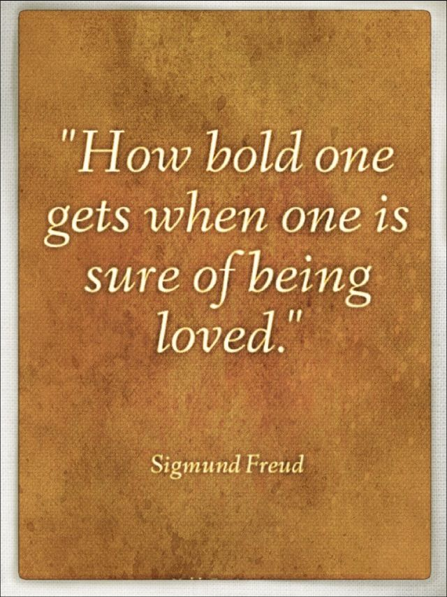 Sigmund freud theories on love