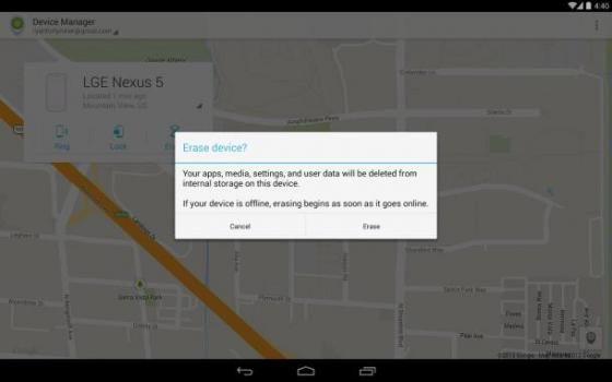 Η Google κυκλοφόρησε εφαρμογή διαχείρισης συσκευών για Android  -  Η Google κυκλοφόρησε μια εφαρμογή για κινητά Android, που προσφέρει Υπηρεσία Διαχείρισης Συσκευών. Διατίθεται δωρεάν στο κατάστημα Google Play και επιτρέπει στους χρήστες να διαχειρίζονται και να διασφαλίσουν ένα
