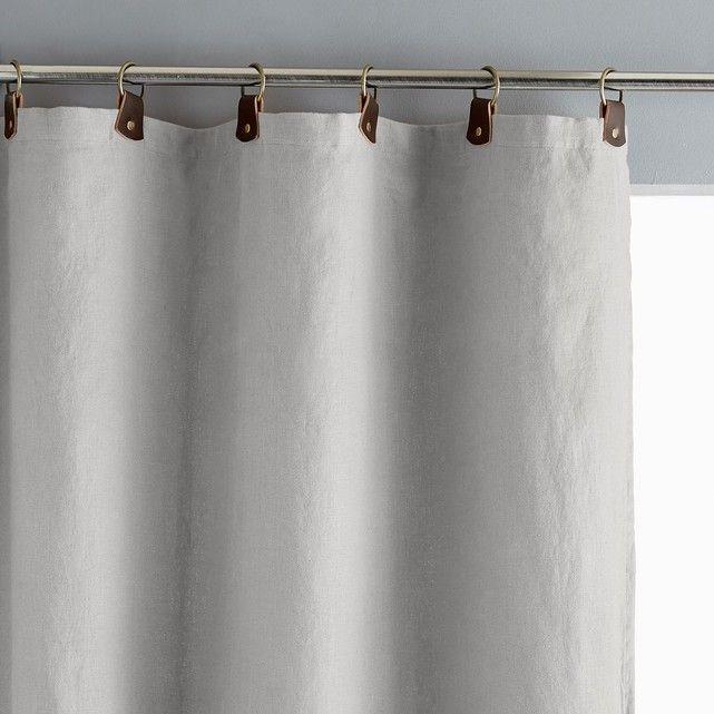 Les 25 meilleures id es de la cat gorie rideau lin lav - Double rideaux en lin ...