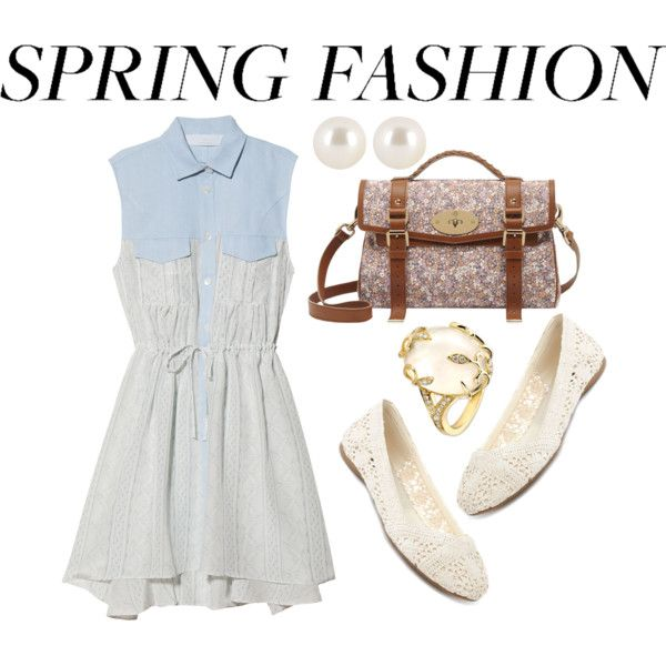 """""""Going shopping in spring"""" by lilrocker-1 on Polyvore"""