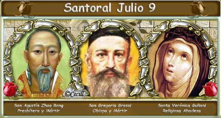 Vidas Santas: Santoral Julio 9