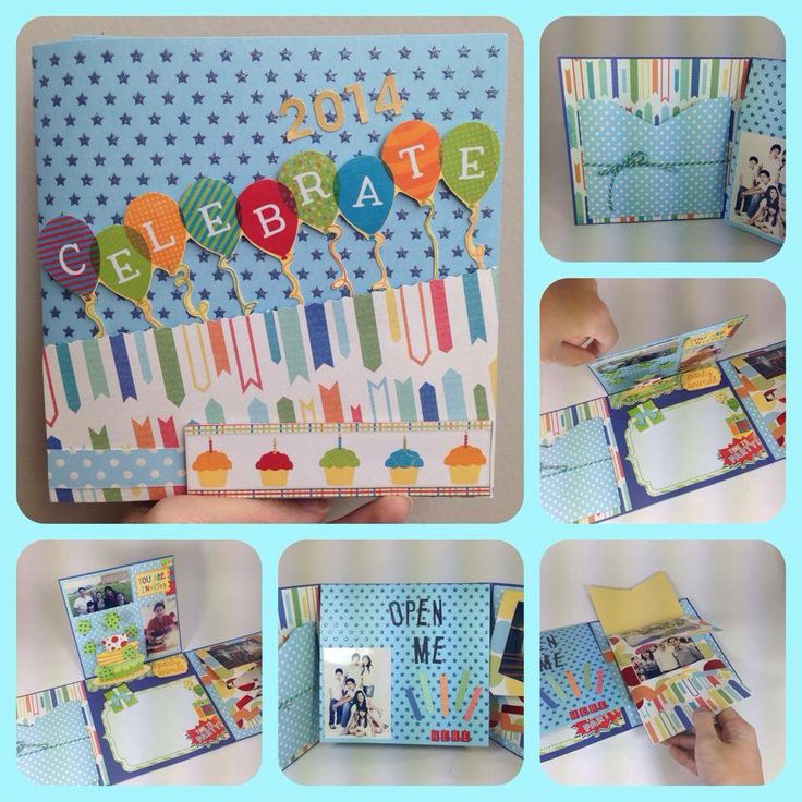 Balloons everywhere! #handmadegift #scrapbook #greetingcards #papercraft #giftideas