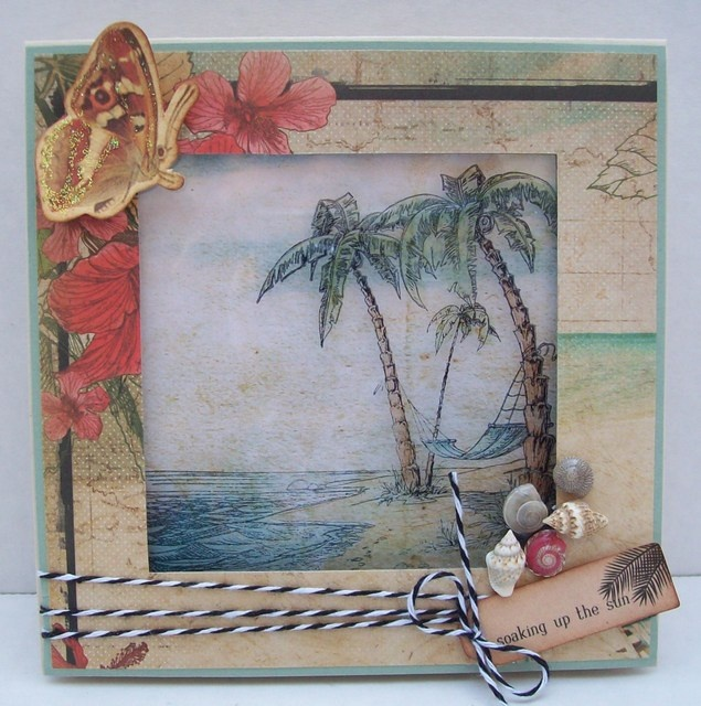 Best of Betsy's- made using Kaisercraft's Tropicana