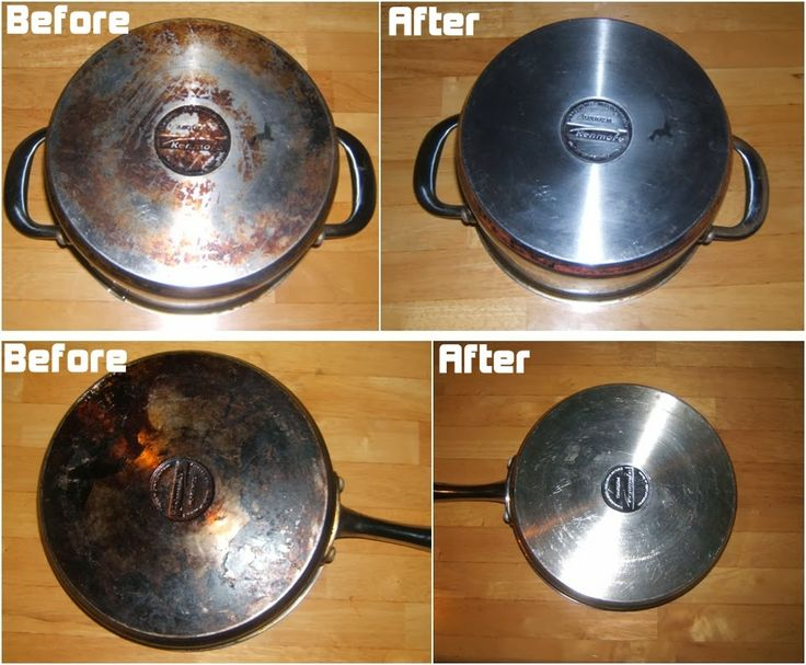 Diy Projects: How to Clean the Bottom of Your Stainless Steel Pans