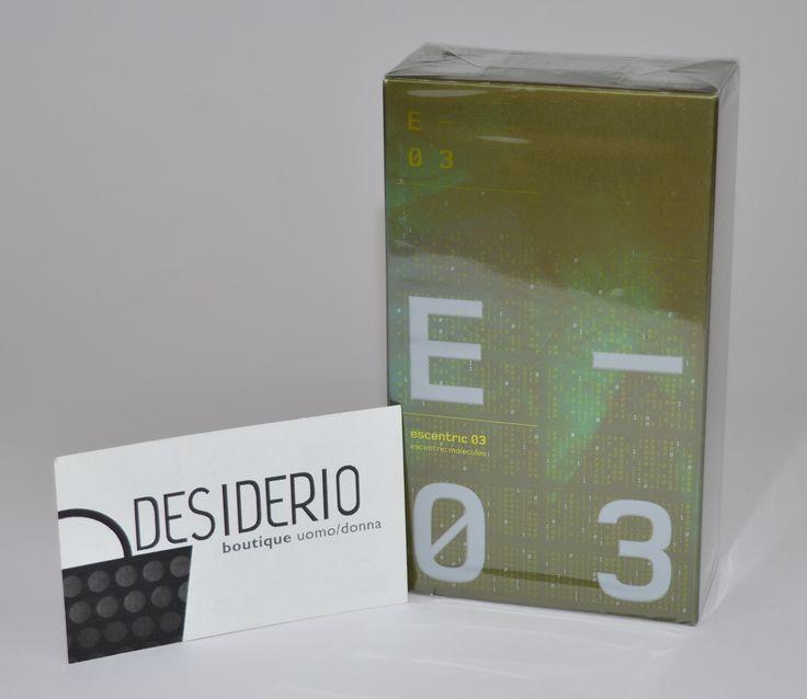 DESIDERIO boutique Canosa di Puglia - Escentric Molecules Escentric 03 http://www.ebay.it/itm/331686092685