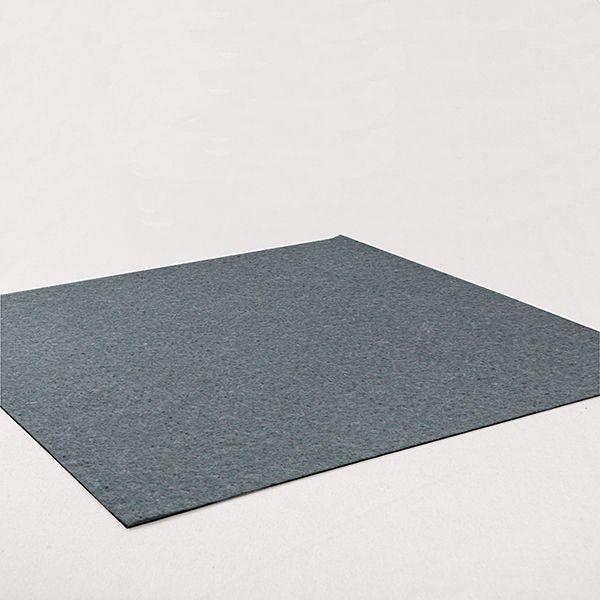Filz 45cm / 5mm silný, 3 - Polyester - šedá