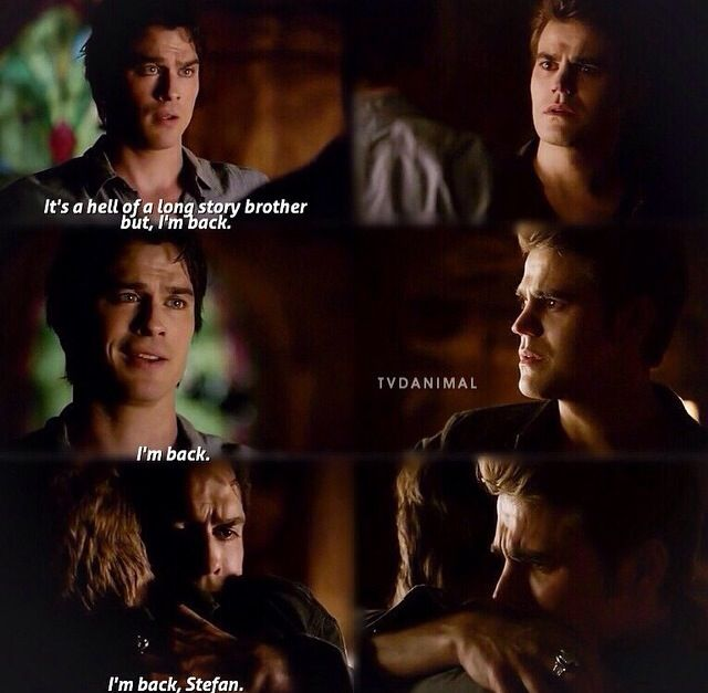"""#TVD 6x05 """"The World Has Turned and Left Me Here"""" - Stefan and Damon"""