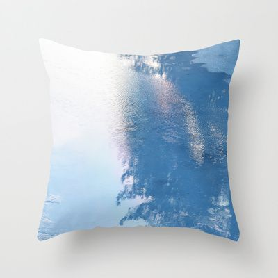 "Throw Pillow / Indoor Cover (16"" X 16"") • 'Ice, ice baby' • IN STOCK • $20.00 • Go to the store by clicking the item."