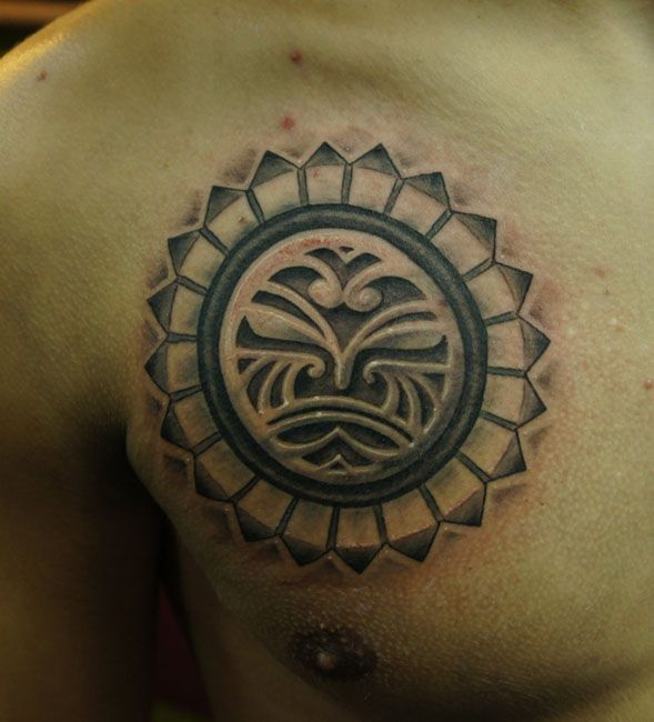 Aztec Chameleon Tattoo: 1000+ Ideas About Maori Tattoos On Pinterest