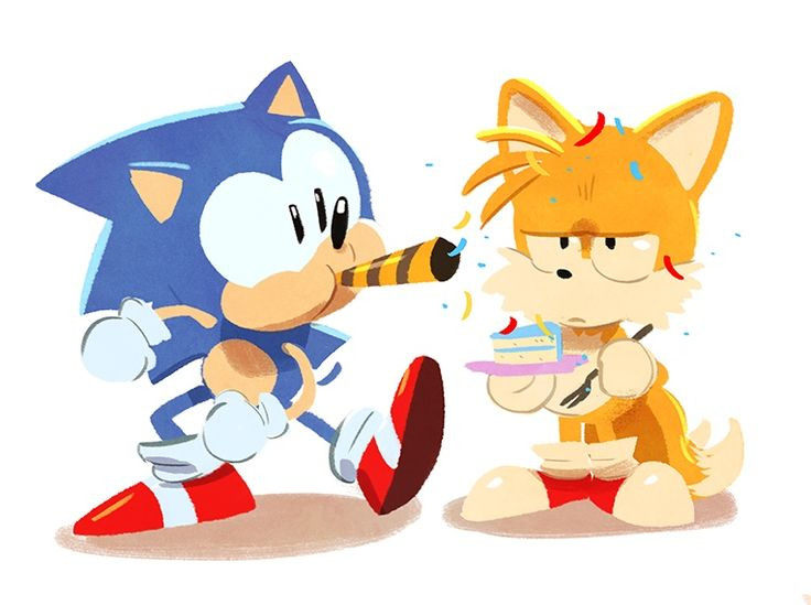Happy Birthday Sonic by Tyson Hesse